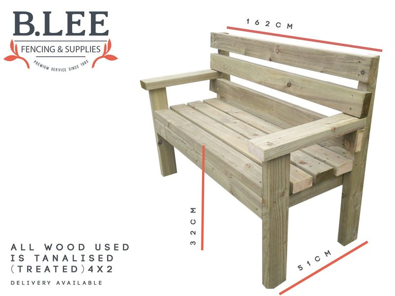 B Lee Fencing's premium Picnic Bench